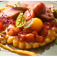Tarte Tartin Sweet Potato Duck breast filet