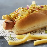 Fries meat dog (1)
